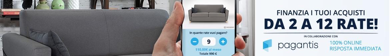 Il tuo divano anche a rate su Sofando.it